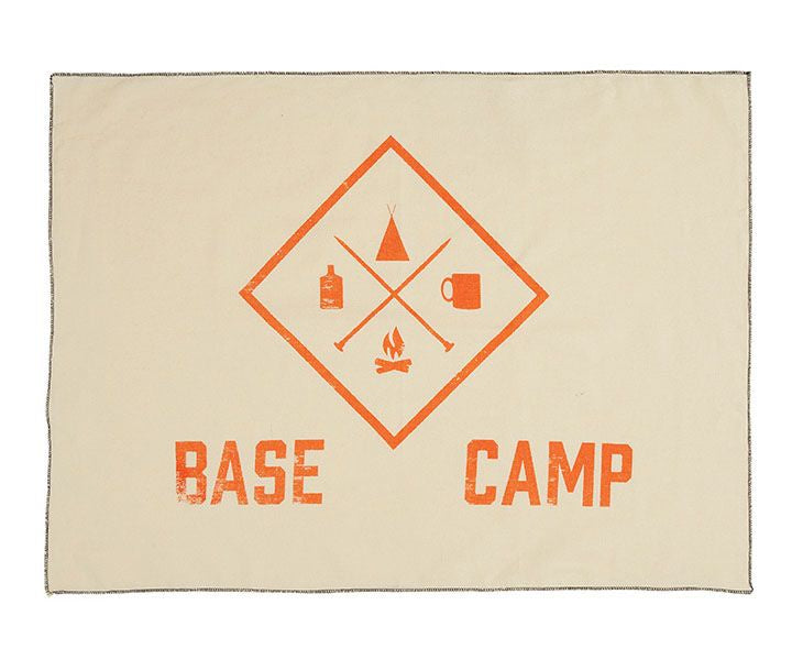 Base Camp Tea Towel