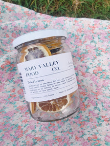 Mary Valley Dried Lemon-Mary Valley Food Co-Bristle by Melissa Simmonds