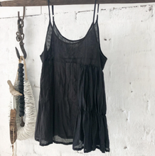 Load image into Gallery viewer, Willow Cotton Silk Camisole - Black-Meg by Design-Bristle by Melissa Simmonds