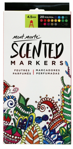Scented Markers 20pce-Mont Marte-Bristle by Melissa Simmonds