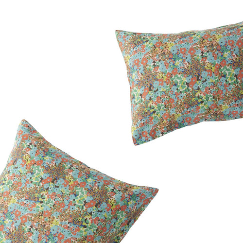 Carole Floral Pillowcase Set-Society of Wanderers-Bristle by Melissa Simmonds