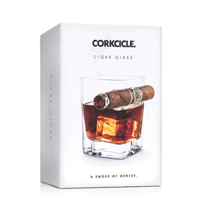 Cigar Glass-Corkcicle-Bristle by Melissa Simmonds