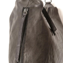 Load image into Gallery viewer, Small Leather Slouchy Bag Black-Accessories-Juju & Co-Bristle by Melissa Simmonds