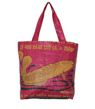 Load image into Gallery viewer, Recycled Fish Tote Bag