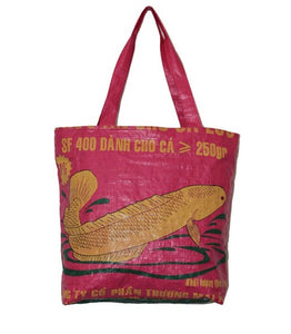 Recycled Fish Tote Bag
