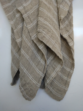 Load image into Gallery viewer, Ethel woven linen throw-Sebo & Co-Bristle by Melissa Simmonds
