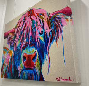 Hamish Stretched Canvas Print