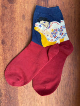 Load image into Gallery viewer, Art Series Socks-Olga de Polga-Bristle by Melissa Simmonds