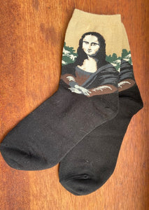 Art Series Socks-Olga de Polga-Bristle by Melissa Simmonds