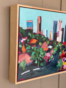 Paddington View of the City-Melissa Simmonds-Bristle by Melissa Simmonds