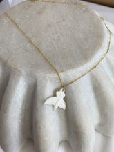 Load image into Gallery viewer, Carved Bird Necklace
