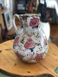 Rose Jug XL (brown clay)