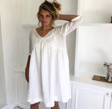 Load image into Gallery viewer, Molly Dress White