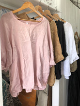 Load image into Gallery viewer, Giorgia Linen Top - Dusty Pink-DiModa-Bristle by Melissa Simmonds