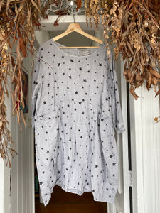 Astra Linen Dress - Grey-DiModa-Bristle by Melissa Simmonds