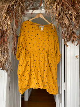 Load image into Gallery viewer, Astra Linen Dress - Mustard