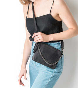 Good Juju Bag - Black-Accessories-Juju & Co-Bristle by Melissa Simmonds