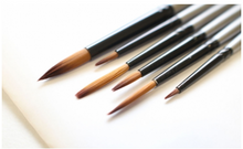 Load image into Gallery viewer, Gallery Series Brush Set Acrylic 6pce