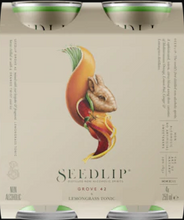 Load image into Gallery viewer, SEEDLIP GROVE 42 & LEMONGRASS TONIC