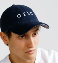 Load image into Gallery viewer, Ortc Man Original Cap - Navy-Ortc Man-Bristle by Melissa Simmonds
