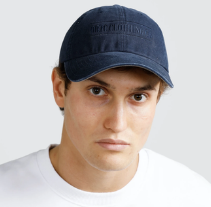 ORTC Classic Logo Cap Navy-Ortc Man-Bristle by Melissa Simmonds