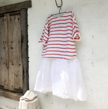 Load image into Gallery viewer, Jane Top Red Nautical-Meg by Design-Bristle by Melissa Simmonds