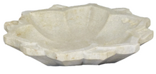 Load image into Gallery viewer, Carved Marble Flower Bowl-Bisque-Bristle by Melissa Simmonds