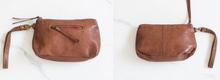 Load image into Gallery viewer, Small Essential Pouch Cognac