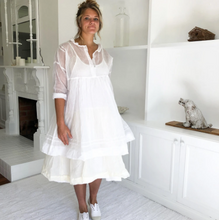 Load image into Gallery viewer, Paper Doll Dress White