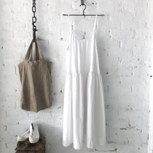 Load image into Gallery viewer, Cotton Poplin Slip Dress - White-Meg by Design-Bristle by Melissa Simmonds