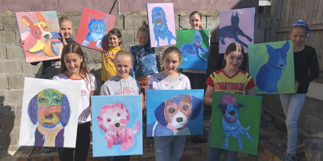 Kids Paint Your Pet Art Workshop - 8th March