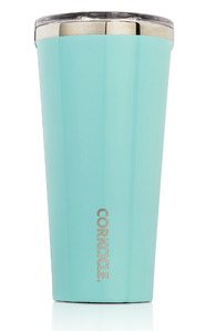 Corkcicle Tumbler 16oz - Turquoise-Corkcicle-Bristle by Melissa Simmonds