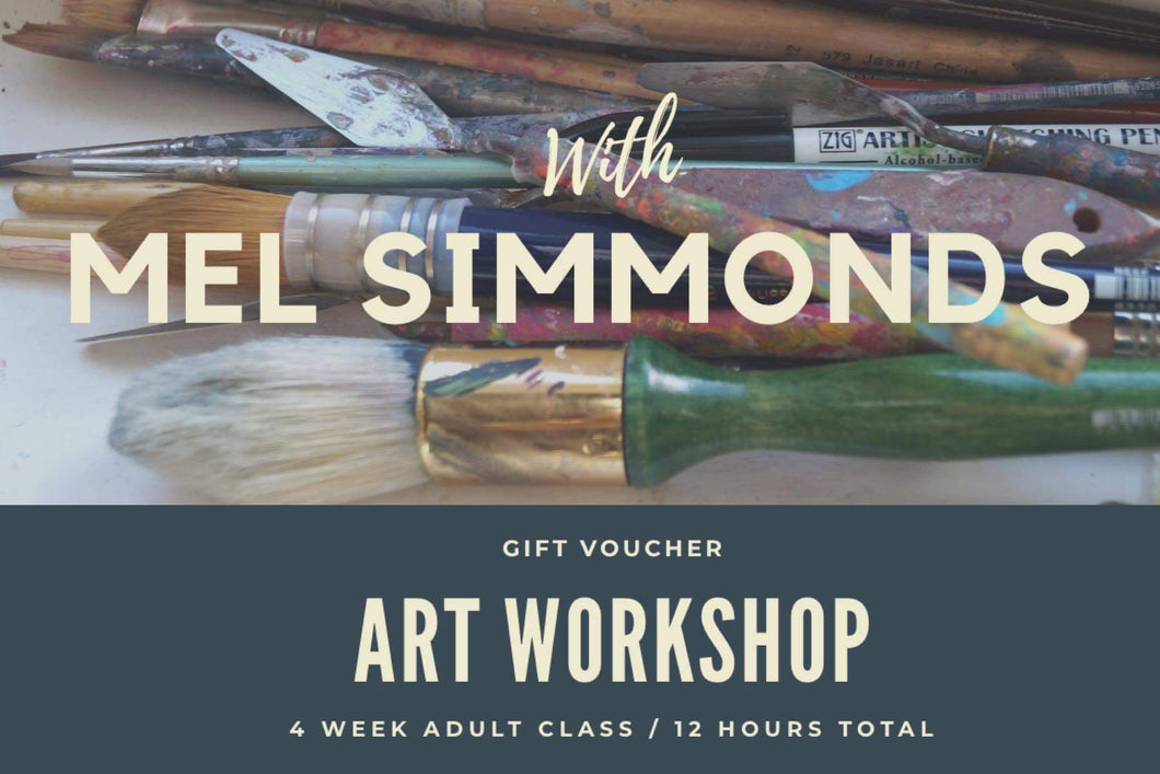 Adult Art Workshop Gift Voucher-Melissa Simmonds-Bristle by Melissa Simmonds