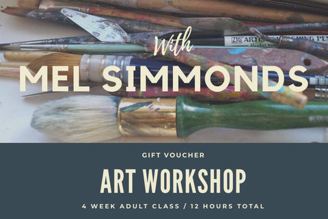 Adult Art Workshop Gift Voucher