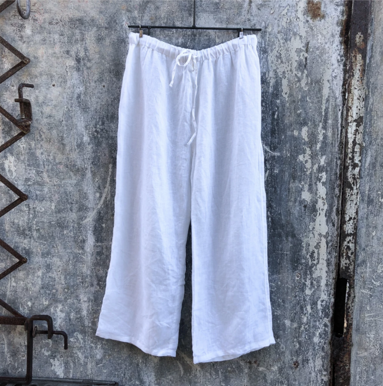 Lounge Pants White