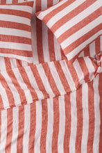 Load image into Gallery viewer, King Flat Sheet - Cherry Stripe