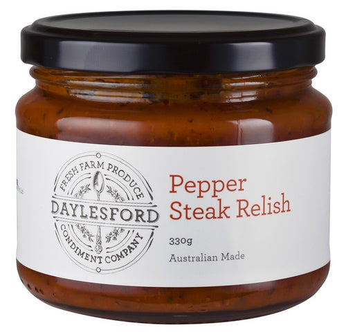 Pepper Steak Relish-Daylesford Condment Company-Bristle by Melissa Simmonds