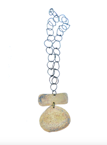 Dora Haralambaki - Droplet Element Chain Necklace