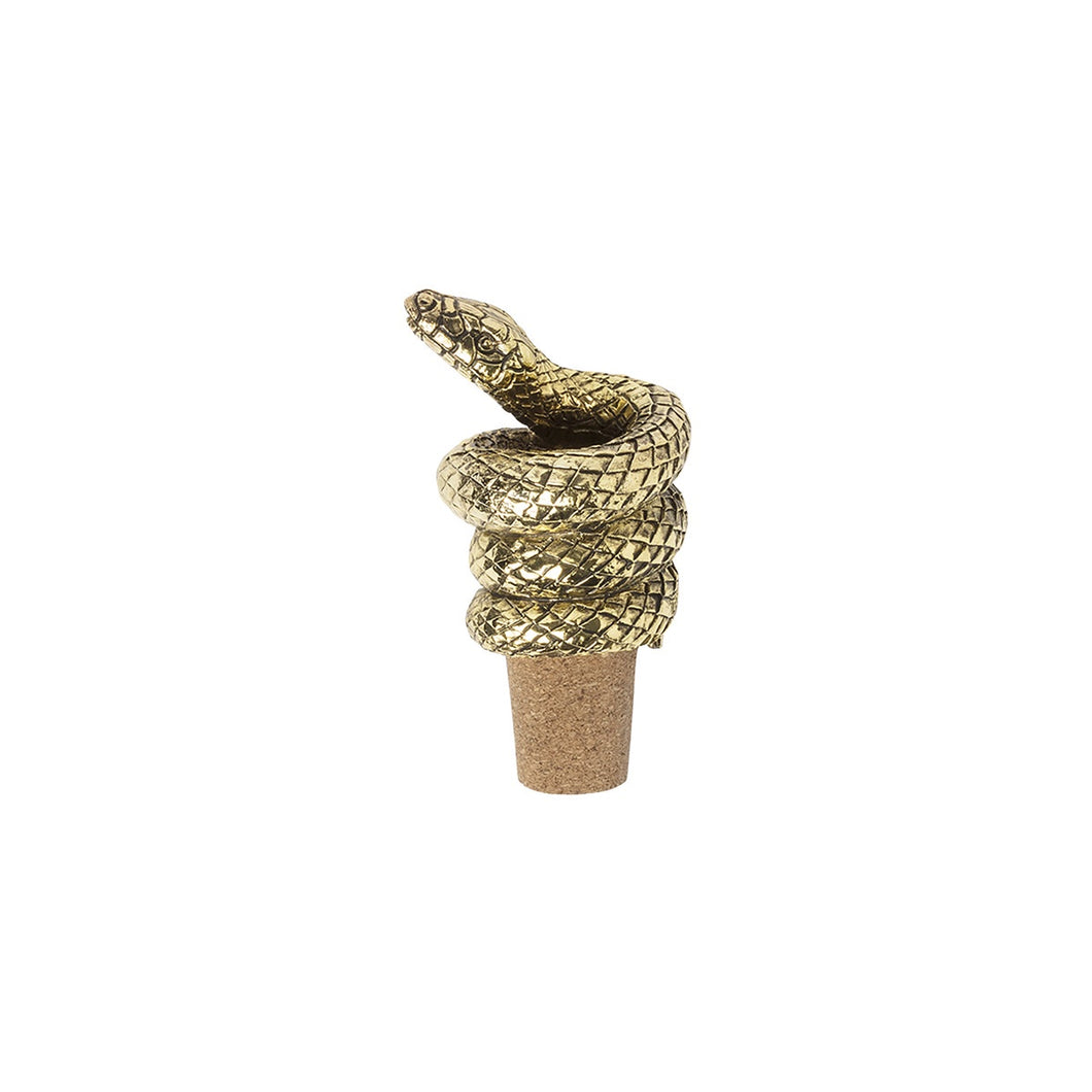 Mamba Bottle Stopper - Antique Gold-Doiy Designs-Bristle by Melissa Simmonds