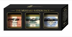 TRCC The Mustard Ration Pack-The Regimental Condiment Company-Bristle by Melissa Simmonds