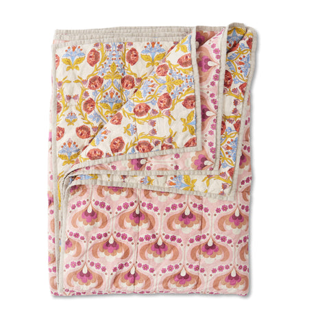 Kitty & Lydia Double Sided Quilt Standard