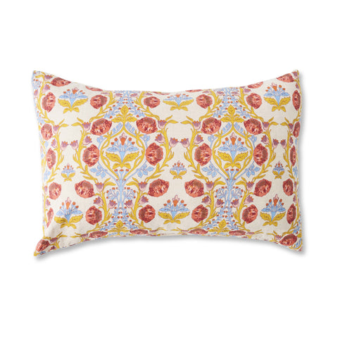 Standard Pillowcase Set (Lydia's Floral)-Society of Wanderers-Bristle by Melissa Simmonds
