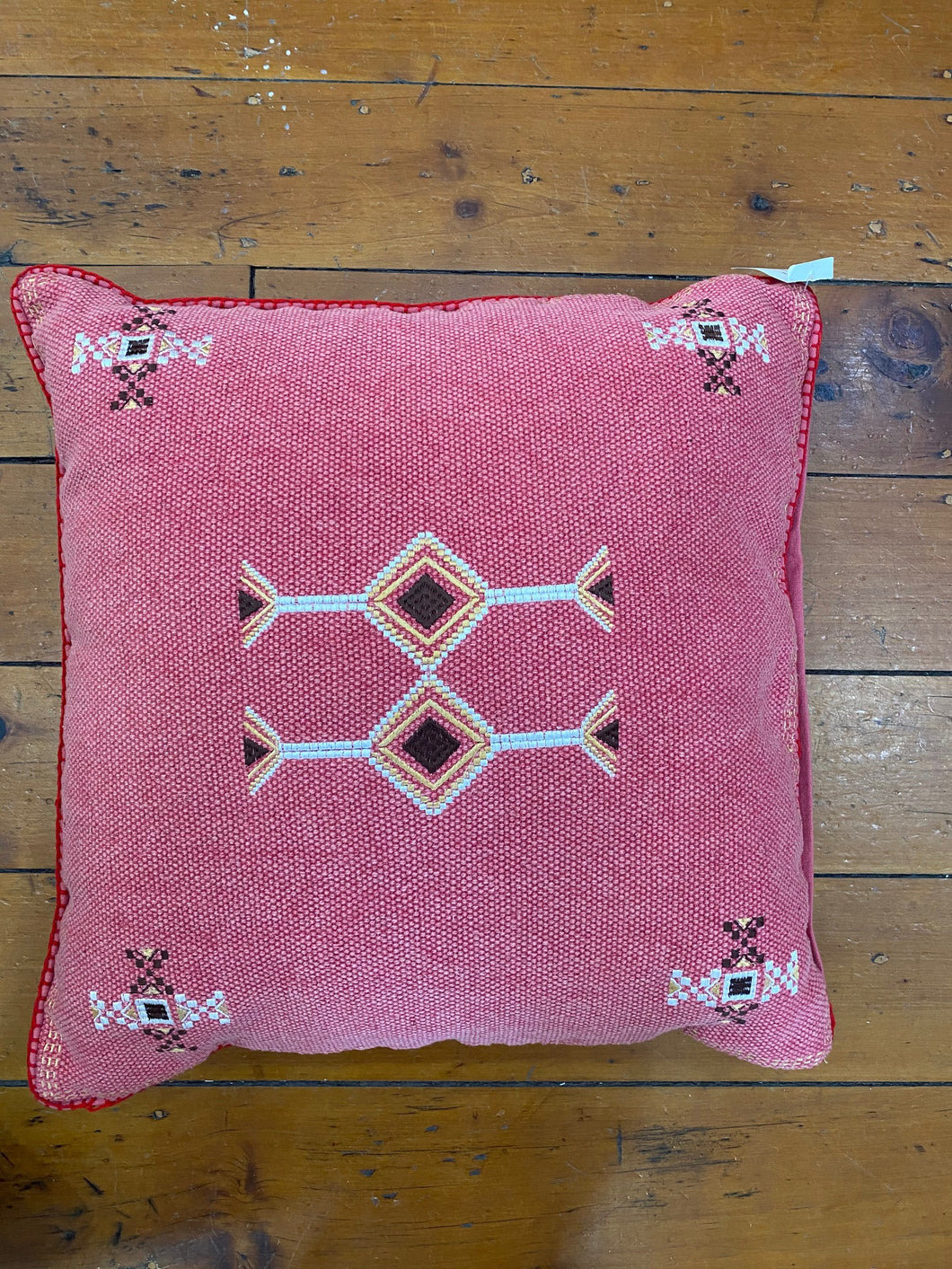Aztec Cushion - Red