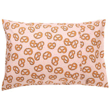 Load image into Gallery viewer, Pretzel Pink Single Pillowcase-Kip & Co-Bristle by Melissa Simmonds
