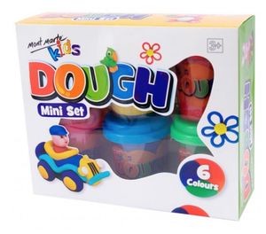 Mini Dough Set - 6 piece
