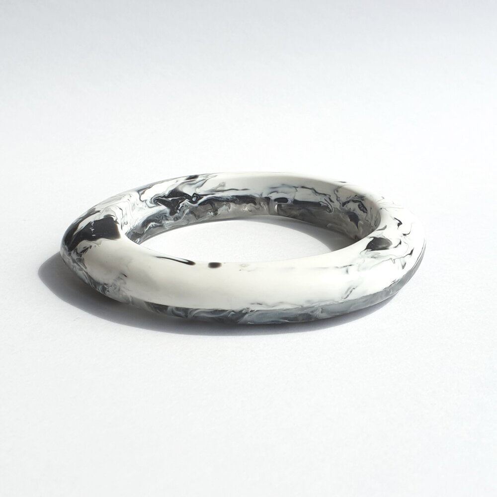 ARCH Bangle - Oyster-Viviano-Bristle by Melissa Simmonds