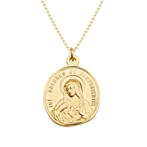 Life of Mary Coin Pendant