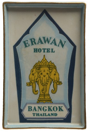 Hotelier Destination Wall Plate - Erawan