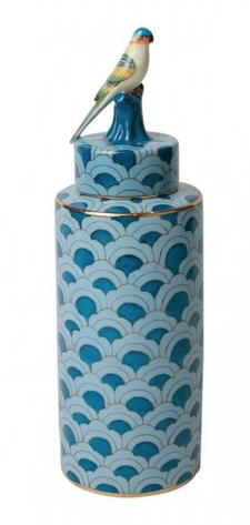 Pacific Bird Jar - Turquoise