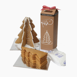 G FOLK - GINGERBREAD TREE KIT-Folk-Bristle by Melissa Simmonds
